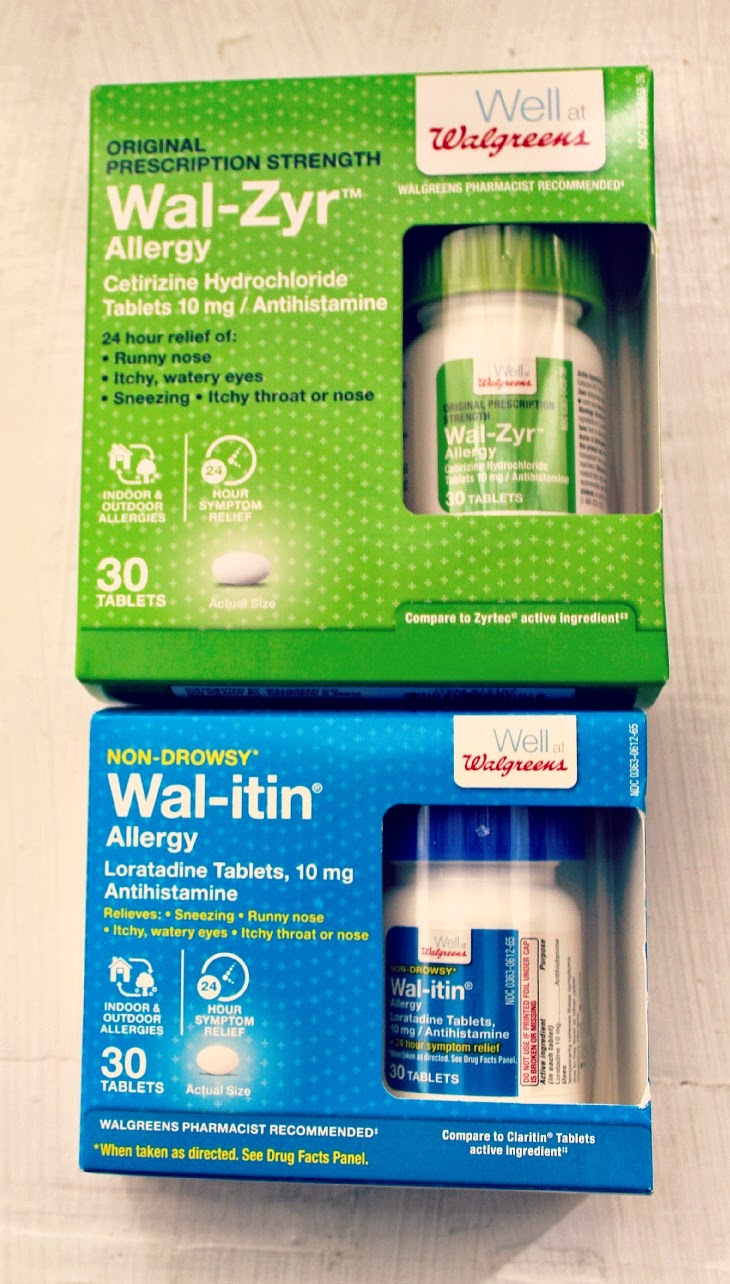 well at walgreens, walgreens, allergy season medicine