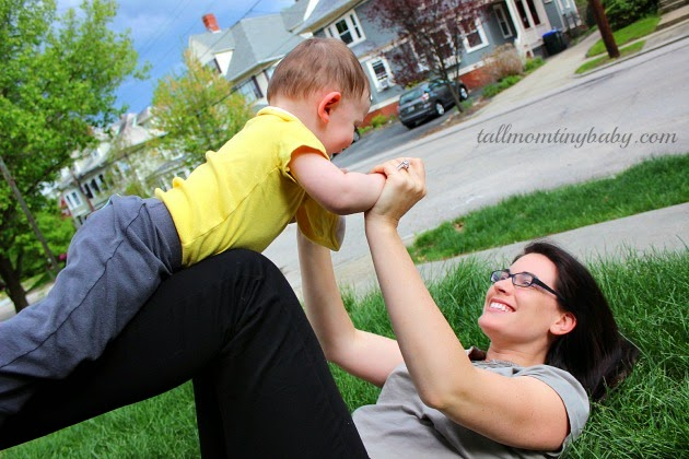 mom playing with baby pink nail polish tall mom tiny baby #herhealth #shop