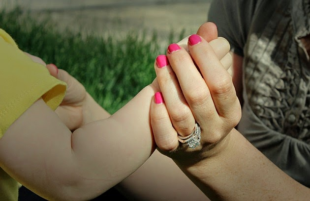 pink nail polish tall mom tiny baby #herhealth #shop