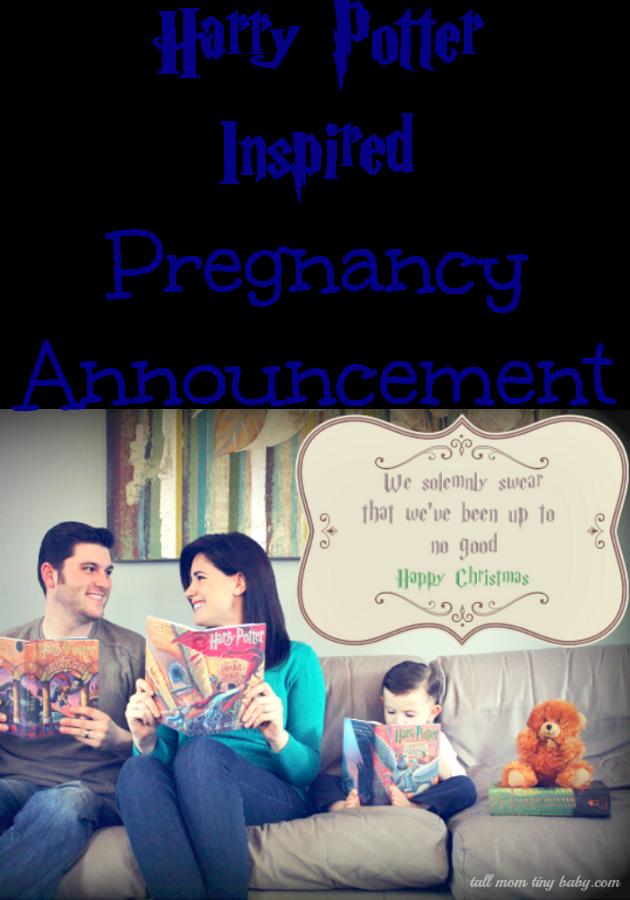 harry potter pregnancy announcement